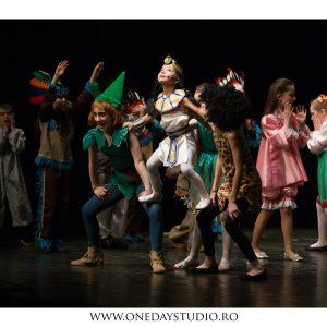 """Peter Pan"" de Isabela Oancea, după J. M. Barrie"
